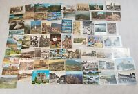 Lot Of German Post Cards Europe Post Cards Vintage Schools Buildings Towns P4