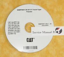 SEBP5801 Caterpillar D11T Track Type Tractor Parts Manual Book CD