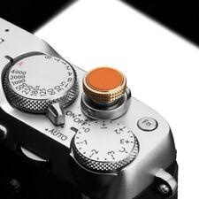 Gariz Soft Release Shutter Button Auslöser Auslöseknopf für Kamera | Orange