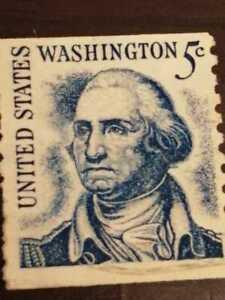 Rare US Stamp George Washington 5 cent