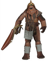 Star Wars Revenge of the Sith Wookiee Warrior Sneak Preview 3 of 4 Figure new