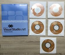 Microsoft Visual Studio .NET Professional 2002 Disks And Key