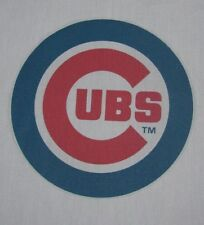 1 Chicago Cubs BASEBALL  MLB 18X18 SEWING BLOCK QUILTING SQUARE REDBIRDS FABRIC