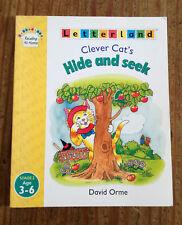 New Letterland Book Clever Cat's Hide & Seek Stage 2 Unread Paperback