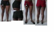 Striped Hot Pants Low Rise Shorts for Women