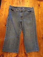 Women's Michael Kors Capri Jeans Good Condition Size 8 X 17