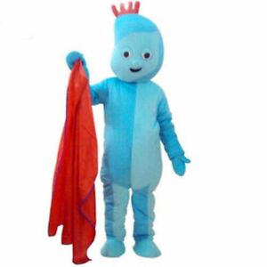 BRAND NEW CUSTOMISED Iggle Piggle Mascot Costume Actual Pictures New Year