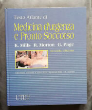 Testo atlante di medicina d'urgenza e pronto soccorso - RARO, Utet 1998. OTTIMO