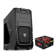 AVP Storm 27 Gaming Pc Computer Tower case - 750W PSU alimentatore-USB 3.0