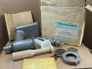 Vintage KitchenAid Mixer FG Meat / Food Grinder - All Models Attachment