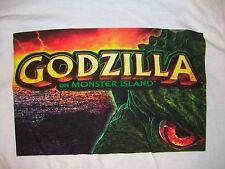 GODZILLA ON MONSTER ISLAND   LAS VEGAS SLOT MACHINE T-SHIRT mens L movie SCI FI