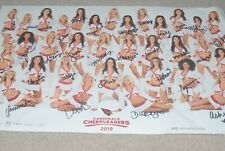 ARIZONA CARDINALS 2019 CHEERLEADERS PHOTO - SIGNED BY ALL 32 SIGNATURES