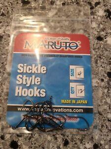 Maruto Sickle Style Hooks