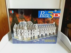 Puzz-3D Chateau De Chenonceau 3D Puzzle new still sealed