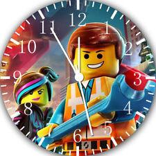 Lego Movie Frameless Borderless Wall Clock Nice For Gifts or Decor E328