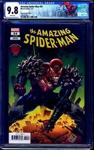 Amazing Spider-Man #54 KNULLIFIED VARIANT CGC 9.8 CUSTOM LABEL NM/MT