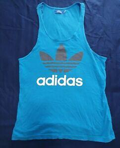 Adidas Mens Running Gym Singlet Tank Sleeveless T-Shirt Size Medium