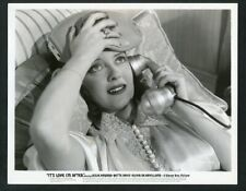 "BETTE DAVIS on TELEPHONE Original Vintage 1938 Photo ""IT'S LOVE I'M AFTER"""