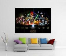 STAR WARS ANTHOLOGY MOVIE GIANT WALL ART PHOTO POSTER