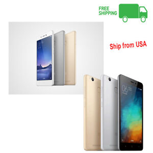 """Xiaomi Redmi 3S 5.0"""" AT&T T-Mobile GSM Dual Sim GSM 4G LTE Android Phone"""