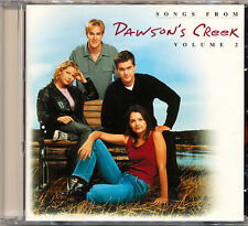 DAWSON'S CREEK Songs From Dawson's Creek TV Series Volume 2   CD