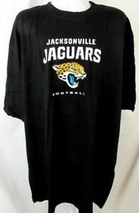 "Jacksonville Jaguars Big Men 4XL or 3XT ""JAGUARS FOOTBALL"" T-shirt AJJS 177"