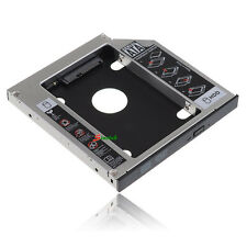SATA 2nd HDD Hard Drive Caddy for 12.7mm Universal Laptop CD/DVD-ROM Optical Bay