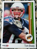 TOM BRADY 2000 Star Rookie Card RC 1989 UD Style San Mateo 6 Superbowl Rings