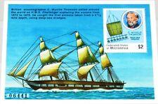 MICRONESIA MIKRONESIEN 1997 Block 26 S/S 271 Oceanographer Thomson Ship MNH
