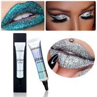Women Glitter Shimmer Eyeshadow Base Glue Cream Face Makeup Primer Cosmetic Tool