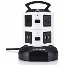 Power Strips Power Tower Surge Protector Electric Charging Station 3000W 13A USB