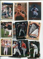 BALTIMORE ORIOLES 100 DIFFERENT MLB BASEBALL CARD LOT