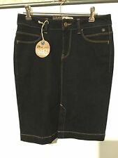 FABULOUS LBT ADORA LONG DENIM SKIRT SIZE S NEW RRP $45