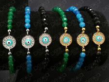 Luck Sterling Silver Beaded Fashion Bracelets
