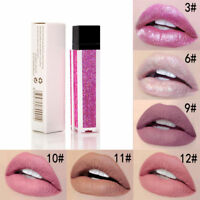 6 Colors Long Lasting Glitter Waterproof Liquid Lipstick Matte Makeup Lip Gloss