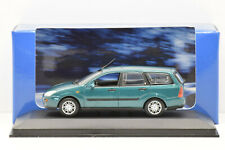 FORD FOCUS TURNIER GREEN 1998 MINICHAMPS 1/43 NEUF EN BOITE PROMOTIONNELLE