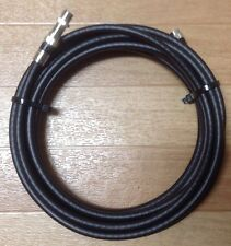 20 Ft, Feet, Black Rg6 Digital Hd Coaxial Tv Cable. Extension cord