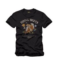 T-SHIRT Tigres Volants Flying Tigers 1941 COCKPIT USA ex AVIREX MADE IN USA