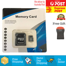 256GB microSD SDXC SDHC Flash TF Memory Card Class 10 Micro SD FREE SD Adapter