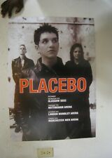 Placebo Poster Band Shot Tour Commercial