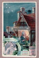 Cassiopea  Astronomy Stars Solar System c1900 Trade Ad Card