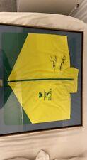 More details for framed and signed darren barker fight worn jersey