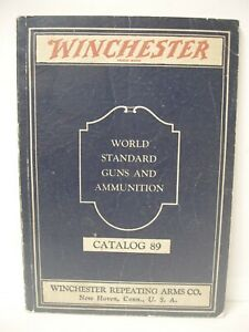 VINTAGE Original 1934 Catalog 89 Winchester repeating arms rifles shotguns