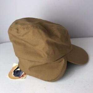 Vintage Broner Earlaps Hat NEW-OLD STOCK Winter Cap w/ Ear Flaps Insulated