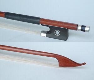 Handmade Short violin bow stiff ipe wood transitional  baroque bow fiddle