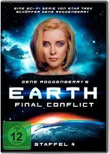 EARTH:FINAL CONFLICT-GENE RODDENBERRY'S EARTH:FINAL CONFLICT-STAFFEL 4-6DVD NEU