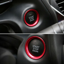 Interior Console Engine Start Push Button Cover Trim For Mazda 3 Axela 2014-2017