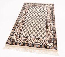 Indo Sarough Mir 90 x 60 cm, Orientteppich handgeknüpft, 100% Schurwolle Poshti