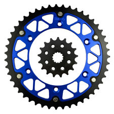 Front Rear Sprockets Kit 17-47T for Yamaha WR450F 2001~2005 WR400F YZ450F YZ250