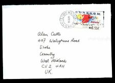 Spain 2005 Airmail Cover To UK #C2136